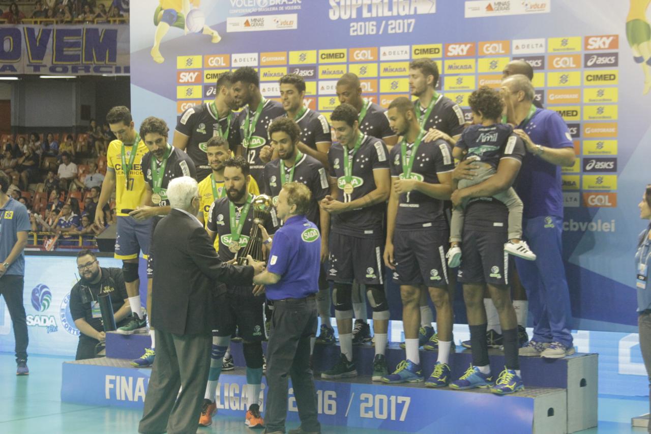 Equipe do Vale do Paraíba ficou com o segundo lugar da Superliga Masculina  16 17 cf545dc16c95b