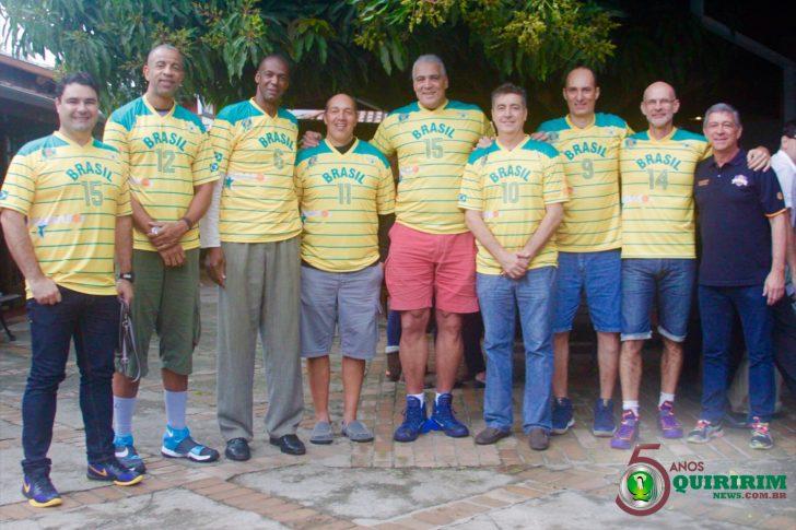 Basquete: Ouro histórico no Pan de 87, ex-atletas do Brasil visitam Quiririm